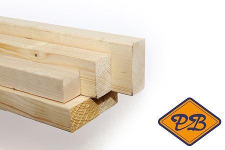 Afbeelding voor categorie Vurenhout kwinta, klasse C geschaafd midden maten (bouwhout)