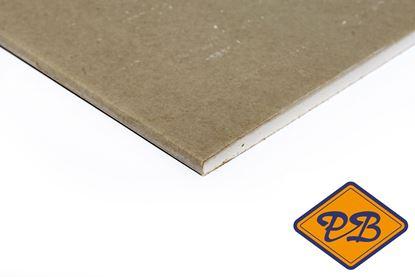 Afbeeldingen van gipswandplaat afgeschuinde kant 12,5mm