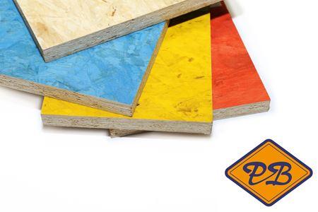Afbeelding voor categorie OSB gekleurde platen