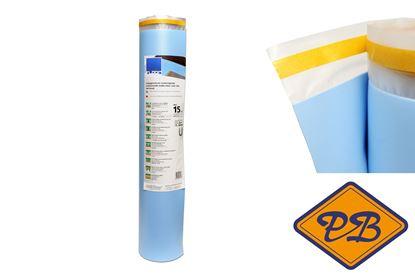Afbeeldingen van Blue Floor ondervloer 2mmx100x1500cm (per rol=15m²)