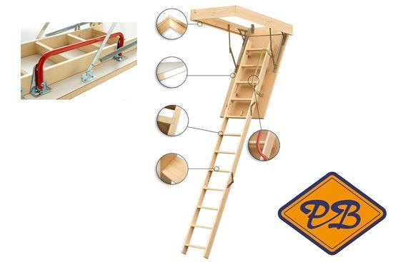 Keylite vlizotrap plafondhoogte 280cm houthandel pieter baks for Vlizotrap monteren