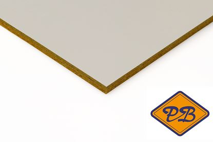 Afbeeldingen van Rockpanel gevelplaat ply met 1-zijdig grijze grondlaag 250x120cm