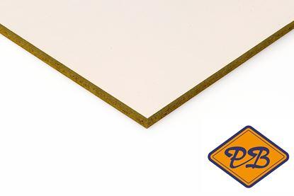 Afbeeldingen van Rockpanel gevelplaat colours durable  1-zijdig ral 9001 creme wit 250x120cm