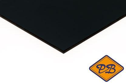 Afbeeldingen van Trespa HPL gevelplaat izeon satin 1-zijdig ral 7016 antraciet 6mm