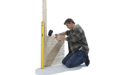 Afbeelding voor categorie Blokhut opbouwservice