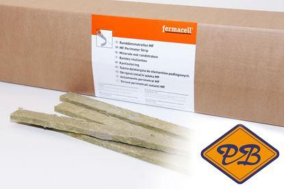 Afbeeldingen van fermacell minerale wol randstroken 30x10mm (per doos=60mtr)