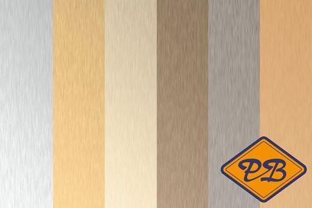 Afbeelding voor categorie HPL platen metaal geborsteld kleuren