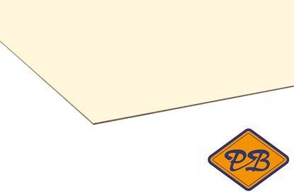 Afbeeldingen van kronospan hpl plaat hoogglans ivoor 0,8mmx305x132cm (kleurnummer: 0514 MG)