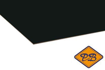 Afbeeldingen van kronospan hpl plaat hoogglans zwart 0,8mmx305x132cm (kleurnummer: 0190 MG)
