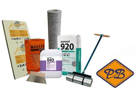 Afbeelding voor categorie Ondervloeren & toebehoren voor PVC dry-back volvaks verlijm vloeren