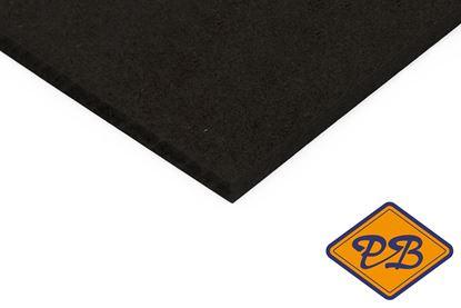 Afbeeldingen van mdf e-1 interieur vochtwerend zwart 305x122cm XL