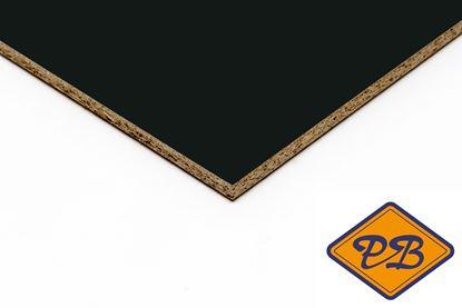 Afbeeldingen van kronospan geplastificeerd spaanplaat hoogglans zwart 280x205cm XL (kleurnummer: 0190 MG)