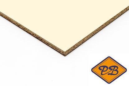 Afbeeldingen van kronospan geplastificeerd spaanplaat hoogglans ivoor 280x205cm XL (kleurnummer: 0514 MG)