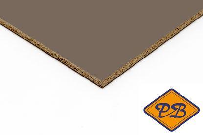Afbeeldingen van kronospan geplastificeerd spaanplaat hoogglans chocolademelk 280x205cm XL (kleurnummer: 7166 MG)