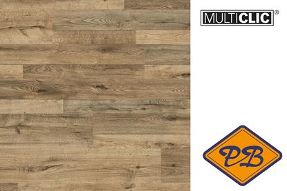 Afbeeldingen van Meister multiclic laminaat Classic LC 55 6685 Eik Bridgewater 1- en 2 strook combinatie 7mmx19,8x128,8cm per pak van 12 stuks (= 3,06m²)