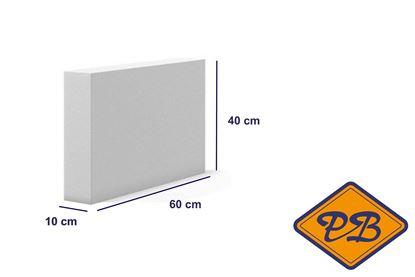 Afbeeldingen van Cellenbeton lijmblok sterkte G4/550 60x40x10cm