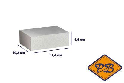 Afbeeldingen van Kalkzandmetselsteen CS 16 waalformaat 10,2x5,5x21,4cm