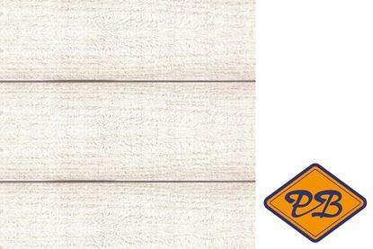 Afbeeldingen van Farmwood massief grenen steigerhouten wandpaneel white 18mm