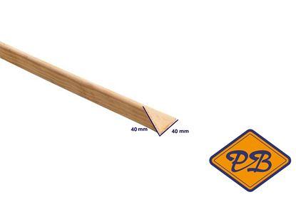 Afbeeldingen van grenen hoeklat model jt5 40x40mm