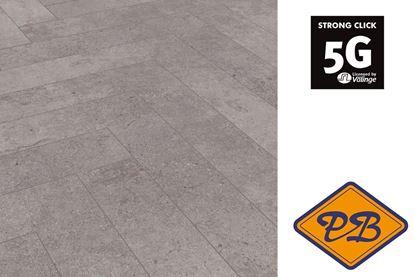 Afbeeldingen van HDM Villeroy & Boch Heritage click laminaat Harmony cersai visgraat strook 8mmx13,3x66,6cm (per pak van 14 stuks A =1,24m²)
