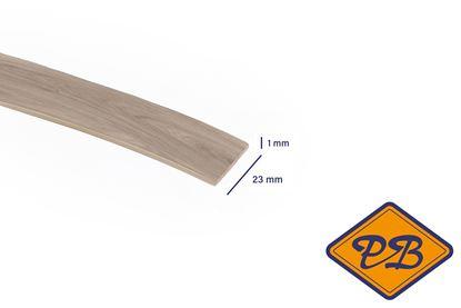 Afbeeldingen van ABS kantenband 1x23mm voor Kronospan geplastificeerd spaanplaat castello greige eiken kleurnummer kleurnummer: K357 PW (per rol=25mtr)