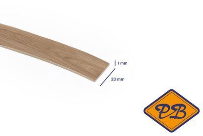 Afbeeldingen van ABS kantenband 1x23mm voor Kronospan geplastificeerd spaanplaat castello honing eiken kleurnummer: K358 PW (per rol=25mtr)