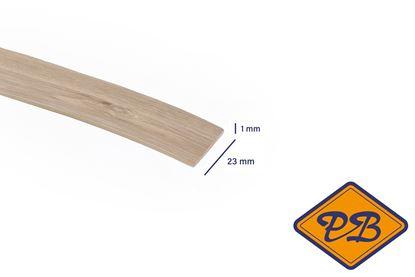 Afbeeldingen van ABS kantenband 1x23mm voor Kronospan geplastificeerd spaanplaat haven vintage eiken kleurnummer: K360 PW (per rol=25mtr)