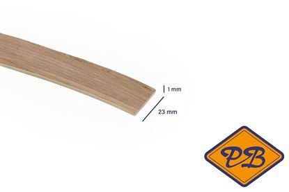 Afbeeldingen van ABS kantenband 1x23mm voor Kronospan geplastificeerd spaanplaat haven goud eiken kleurnummer: K361 PW (per rol=25mtr)