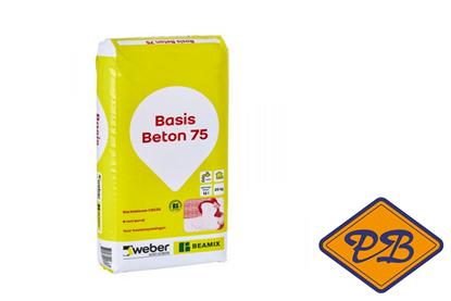 Afbeeldingen van Beamix professioneel basis betonmortel 75 (per zak=25kg)