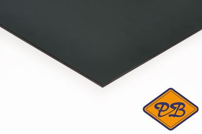 Afbeeldingen van Trespa HPL gevelplaat izeon satin 1-zijdig ral 7021 zwartgrijs 6mm