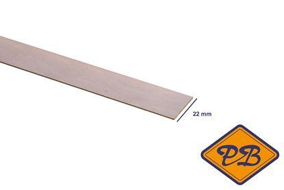 Afbeeldingen van kantband edelgefineerd wit beuken 22mm voorgelijmd (rol=50mtr)