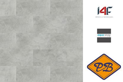 Afbeeldingen van HDM aqua step SPC click wand- en vloertegel Nottingham 4mm