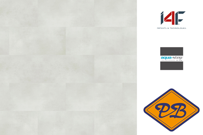 Afbeeldingen van HDM aqua step SPC click wand- en vloertegel Dover L 4mm